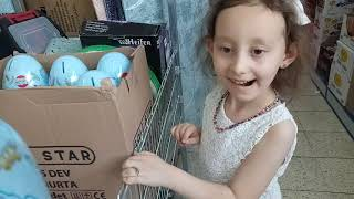 Bim'den Dev Sürpriz Yumurta Aldık...Eğlenceli Çocuk Videosu...