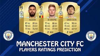 FIFA 19 | MANCHESTER CITY FC PLAYERS RATINGS PREDICTIONS | w/ De Bruyne, Aguero & David Silva