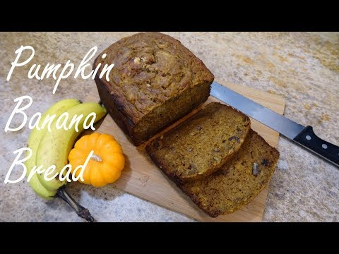 Pumpkin Banana Bread (Bread Machine)
