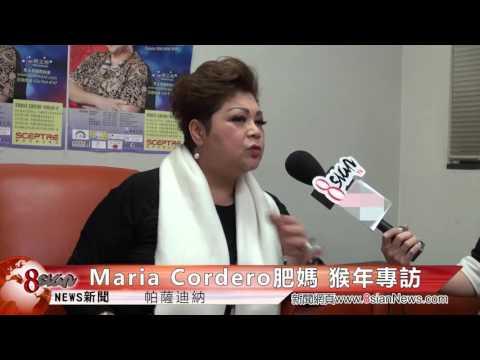 8sian Media - Interview With Maria Cordero 肥媽瑪俐亞 猴年專訪