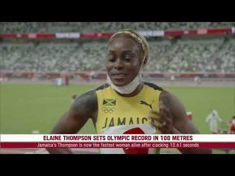 Tokyo Prime (Morning Session), JAMAICA STUNNING 1, 2, 3 IN WOMEN'S 100 METRES FINAL! | SportsMax TV
