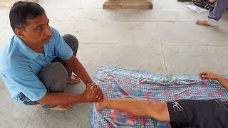 Beat treatment for spine pain rajpal guru ji