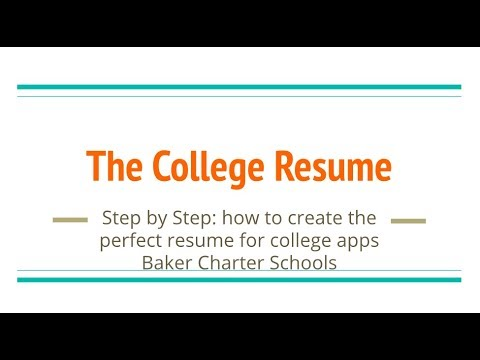Step by Step Guide to Creating a Powerful Resume