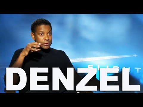 Denzel Washington talks about Addiction and positive characters   FLIGHT