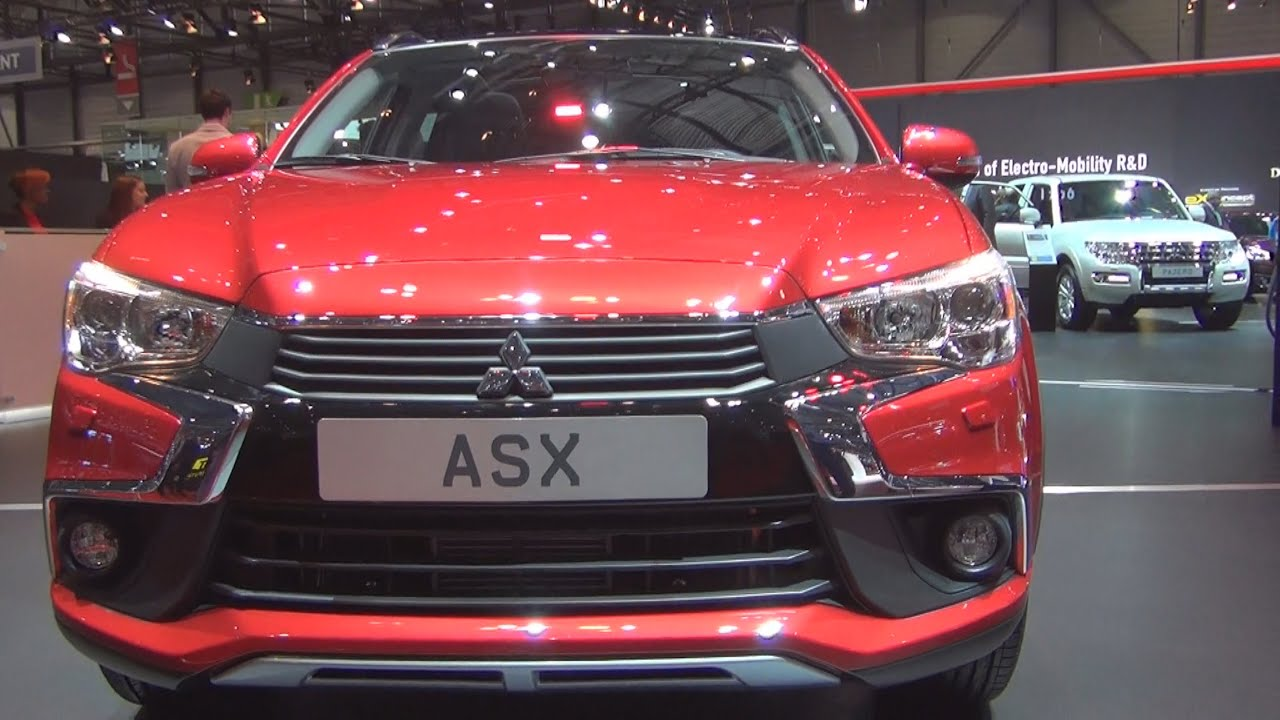 mitsubishi asx 4wd 2016 exterior and interior in 3d youtube. Black Bedroom Furniture Sets. Home Design Ideas
