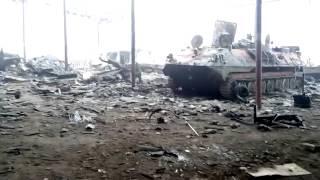 Ополчение уничтожило скопление техники ВСУ в Дебальцево