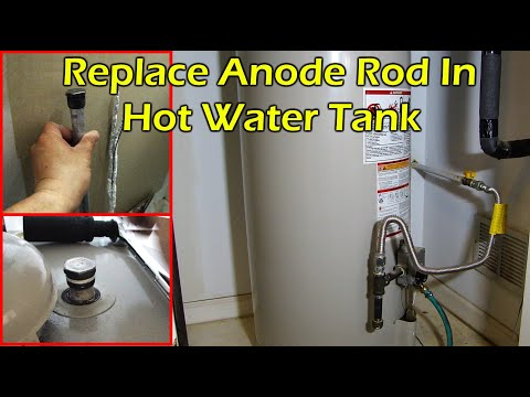 How To Change Hot Water Tank Anode Rod