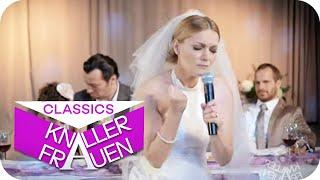 Martinas Braut-Performance auf der Hochzeit