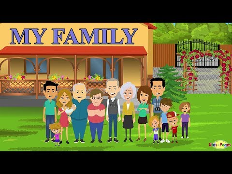Talking about Your Family in English
