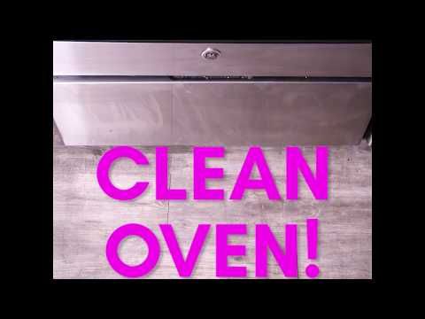 How To Clean Your Oven Glass Even When It's Extra Grimey