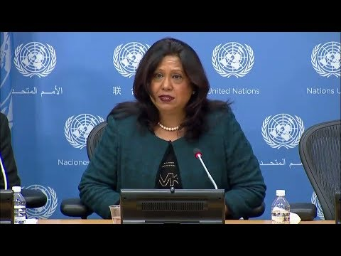 Sexual Violence in Conflict - Press Conference (22 November 2017)