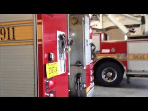 IN HOUSE VISIT TO THE JACKSONVILLE FLORIDA FIRE & RESCUE STATION 26 IN JACKSONVILLE, FLORIDA.