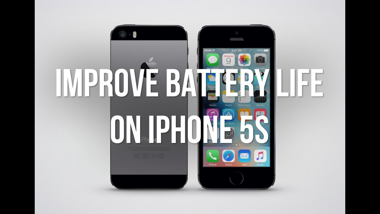 iphone 5s battery life improve battery iphone 5s ios 9 1815