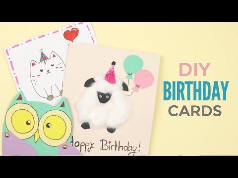 DIY: Cute Birthday Cards | Birthday Mail DoSomething.org