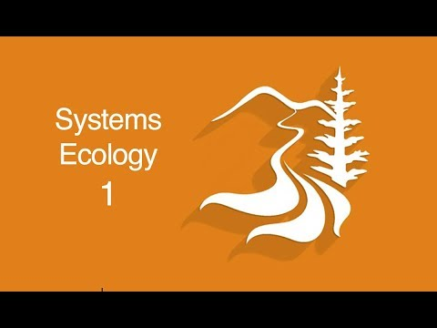 Systems Ecology Overview