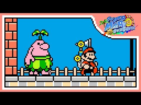 Delfino Plaza (8-BIT) - Super Mario Sunshine