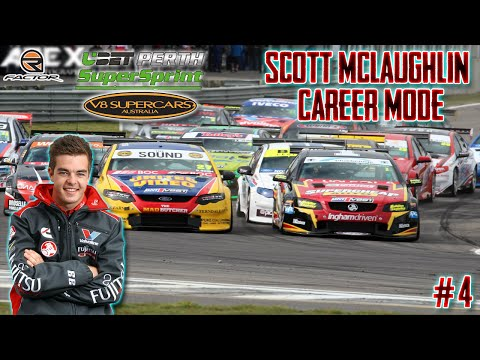 rFactor Scott McLaughlin Career Mode #4: Trading Post Perth Challenge