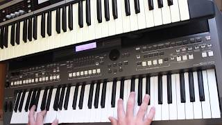 Chris De Burgh   The Lady In Red Yamaha PSR s670 Korg x50 Cover
