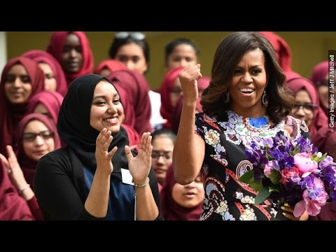 Michelle Obama Promotes Charity Projects In Europe