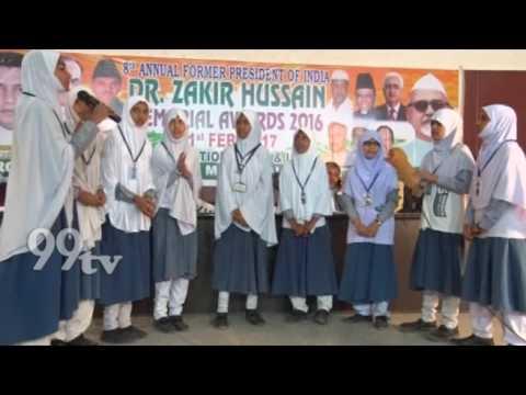 8th ANNUAL FORMER PRESIDENT OF INDIA , DR.ZAKIR HUSSAIN