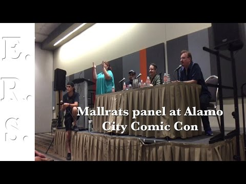 Mallrats panel with Jason Mewes, Jeremy London and Brian O'Halloran at Alamo City Comic Con 2016