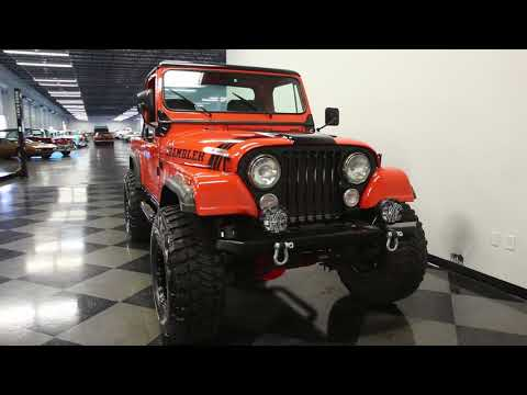 1130 TPA 1983 Jeep CJ8 Scrambler