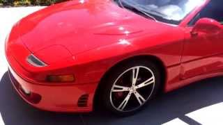 my 1992 mitsubishi 3000gt vr4 exterior and exhaust