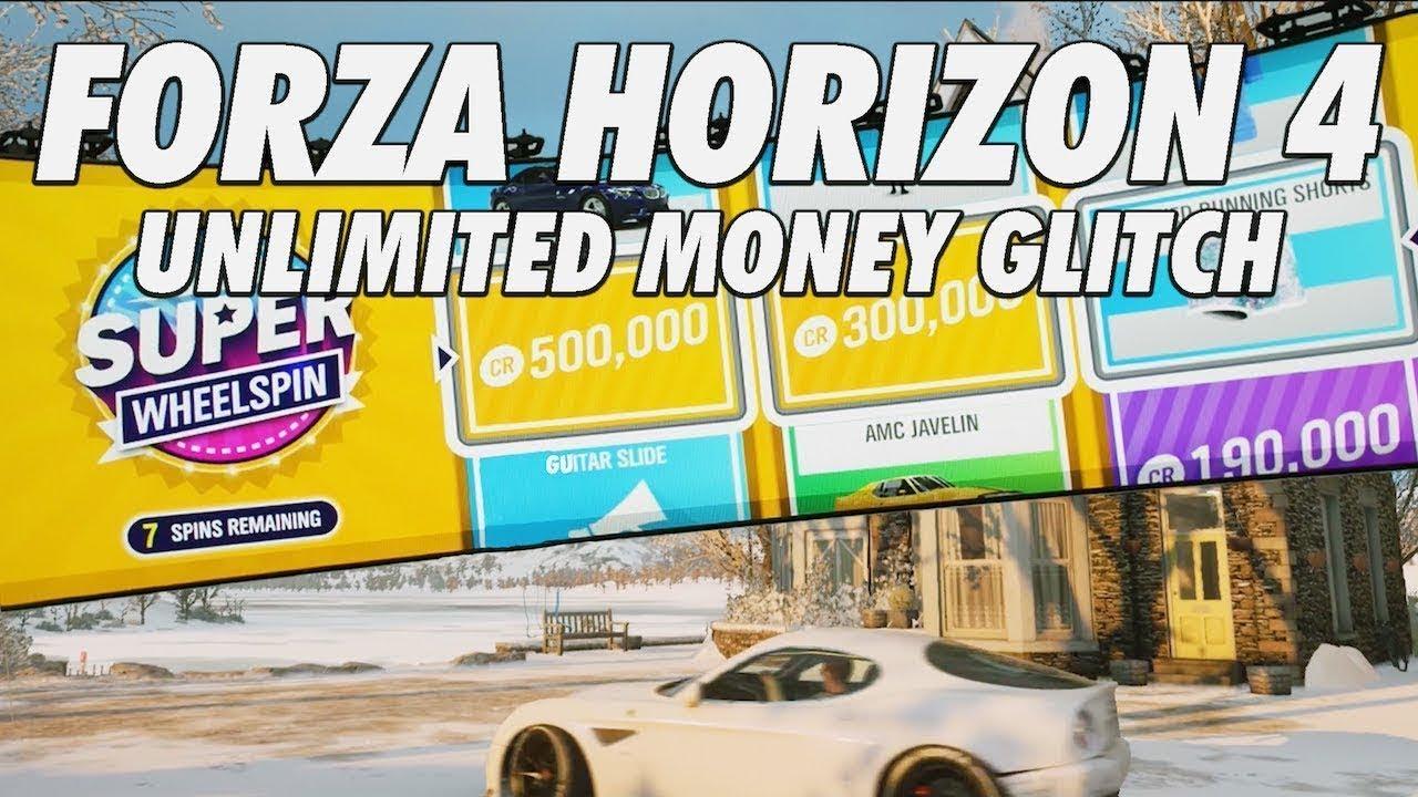 FORZA HORIZON 4 UNLIMITED MONEY GLITCH [PC]