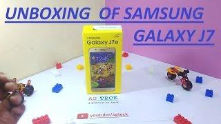 Samsung galaxy J7(2016) Unboxing