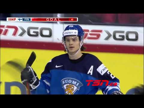 Team Finland TOP-10 Goals #WJC2016