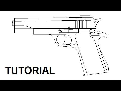 Tutorial Blowback Rubber Band Gun