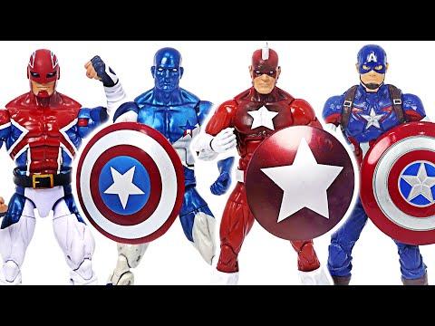 마블 레드 가디언, 캡틴 아메리카, 캡틴 브리튼 방패부대! 막아라! | 두두팝토이