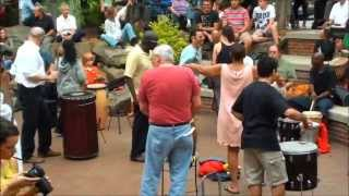 Asheville Drum Circle 2013