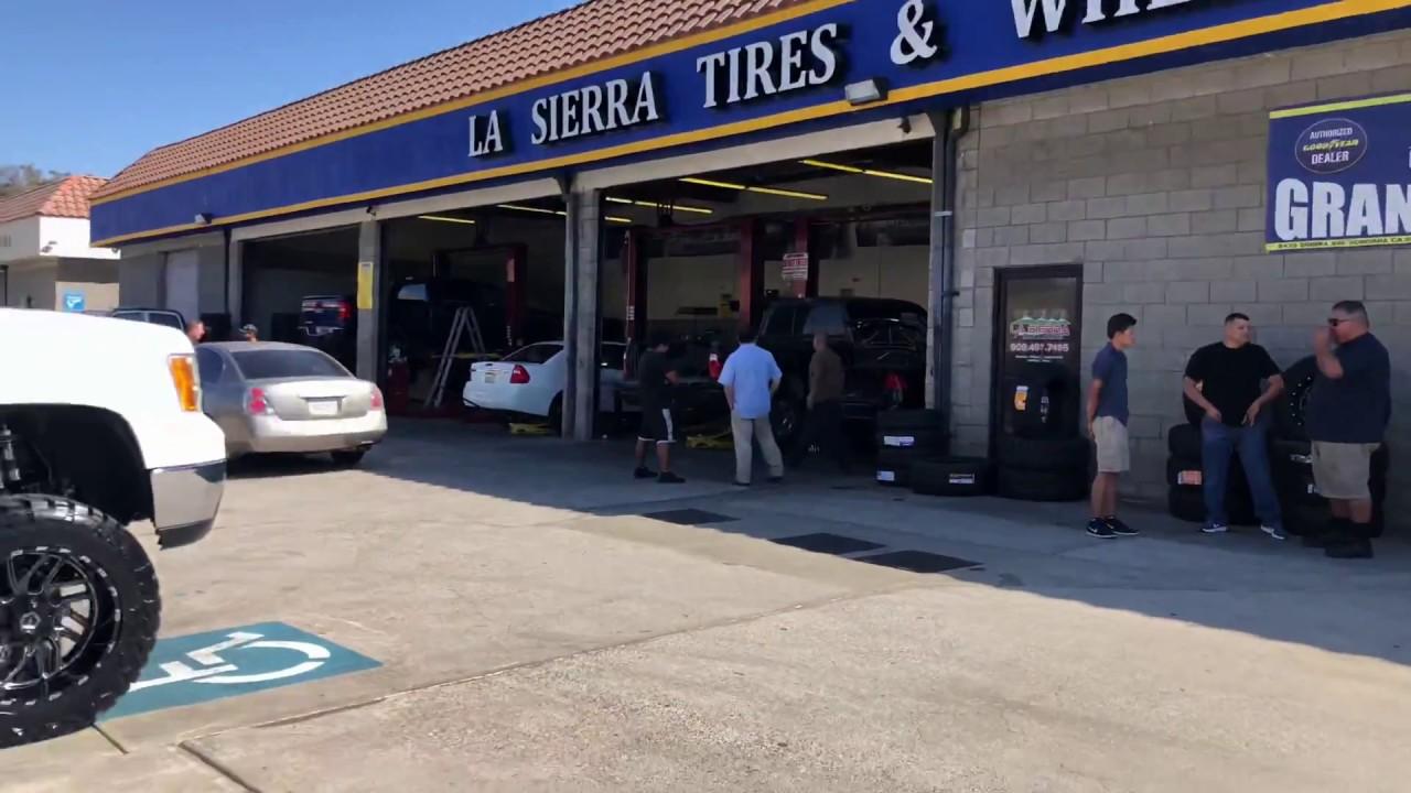 La Sierra Tires >> Gmc Sierra 2500 Hd With Tis 544bm Wheels Youtube