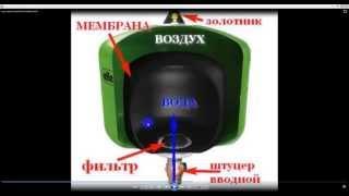 видео Мембранный расширительный бак Reflex DE 8 для систем горячего водоснабжения