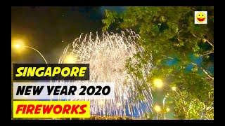 2020 NEW YEAR FIREWORKS SINGAPORE