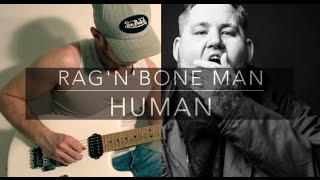 HUMAN - RAG'N'BONE MAN - Electric Guitar Cover by Sébastien Corso
