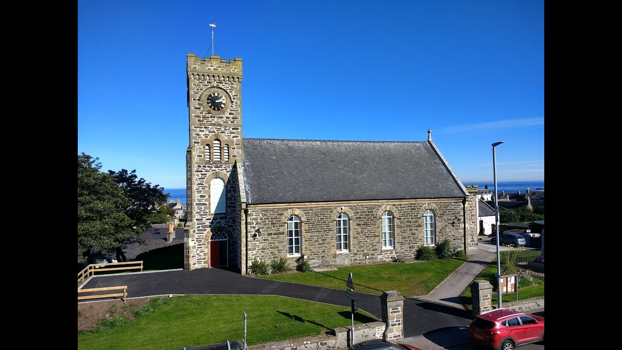 A walk around Portsoy Church Centre