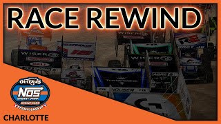 World of Outlaws NOS Energy Drink World Championship | Race 9 - Charlotte | Race Rewind