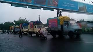 Sant Dnyaneshwar Maharaj Palkhi 2018 at khadki Pune | Varkari's following palkhi |