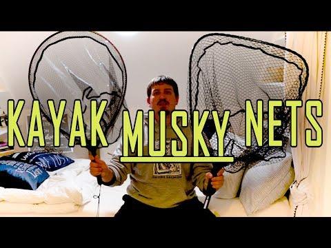 Pike & Musky: Fishing Kayak Nets