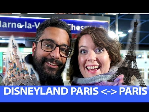 FROM Disneyland Paris TO PARIS By TRAIN And BACK! | HOW TO GET FROM PARIS TO DISNEYLAND PARIS