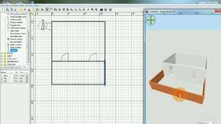 Sweet home 3d hindi tutorial part 1- how to make simple home layout