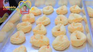 Biscoitos de Queijo – Macio Por Dentro e Crocante Por Fora