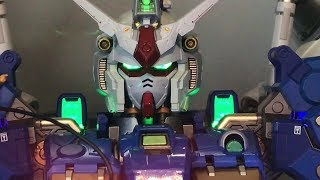 I featured this awesome Gundam in a previous vid but this time they had a back view as well as a view of the LED lights! For more info you can check out these ...