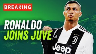 Cristiano Ronaldo signs for Juventus for €100M! Here's what happens now...
