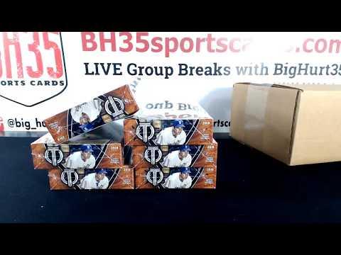 *Ships Friday* 2018 Topps Tribute Baseball 12 BOX 2 CASE BREAK #2