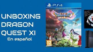 Unboxing Dragon Quest XI para PS4