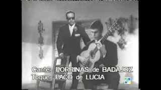 Porrinas de Badajoz. (Fandangos de antología) Gtr. Paco de Lucia