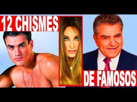 7 escandalos de famosos recientes chismes celebrida Chismes de famosos argentinos 2016